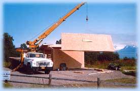 Alaska timberframe post beam homes timber frame for Stress skin panels cost